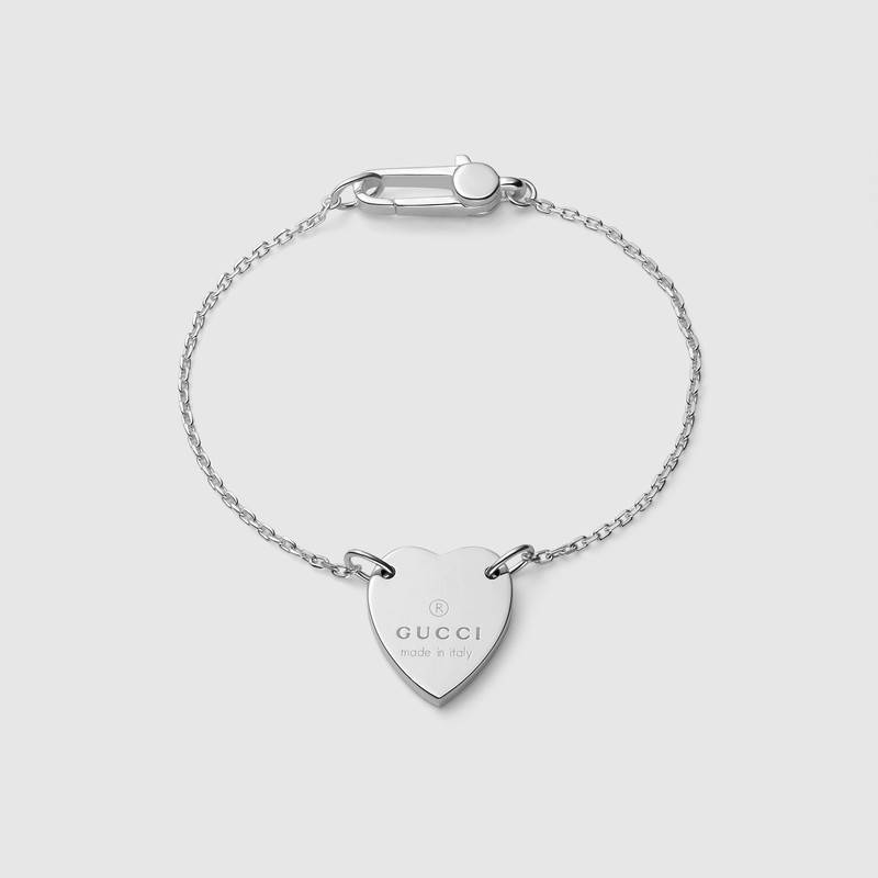 Gucci Bracelet With Gucci Trademark Heart
