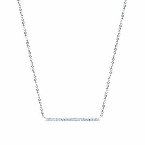 Birks Rosée du Matin Horizontal Diamond Bar Necklace