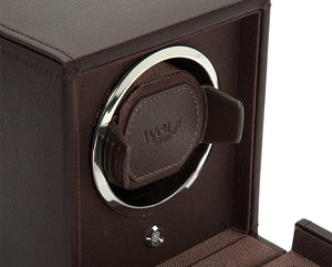 Wolf Cub Single Winder With Cover - Brown