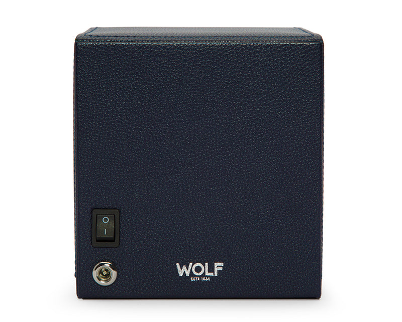 Wolf Cub Single Winder With Cover - Navy