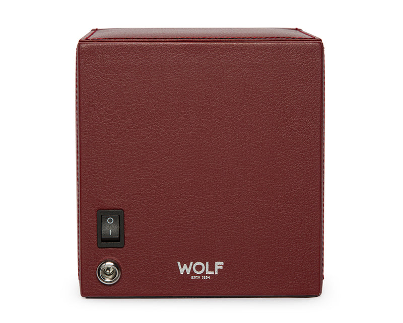 Wolf Single Cub Winder with Cover - Bordeaux