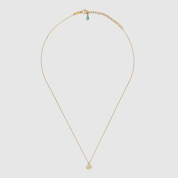 Gucci GG Running necklace in yellow gold