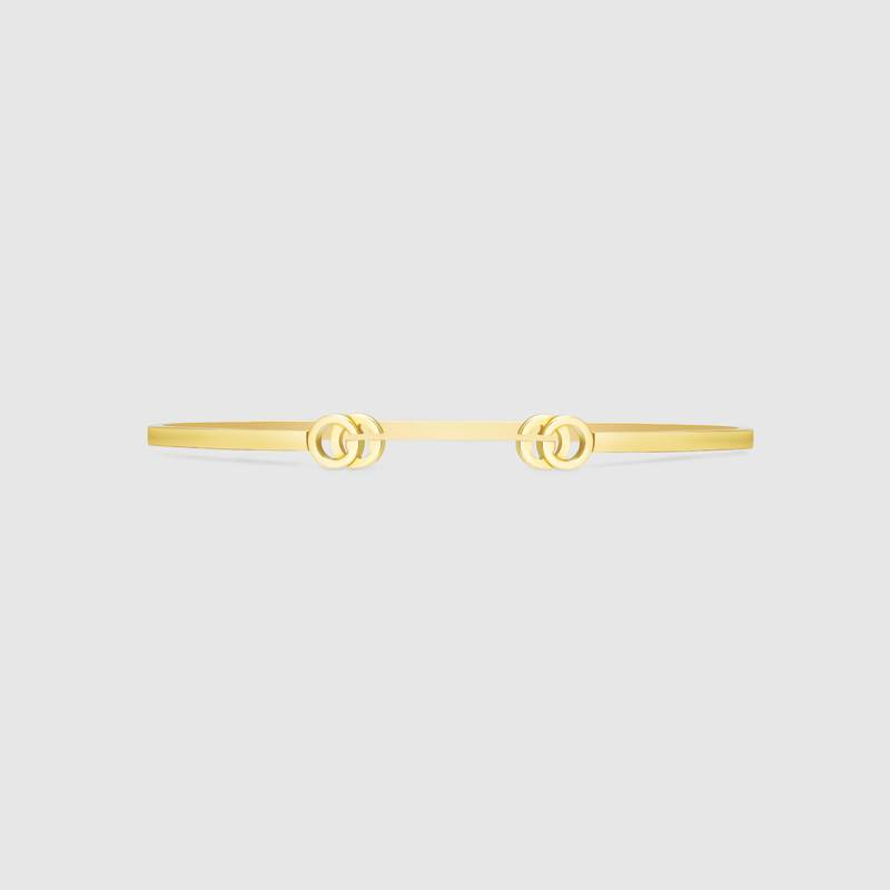 Gucci GG Running Yellow Gold Cuff