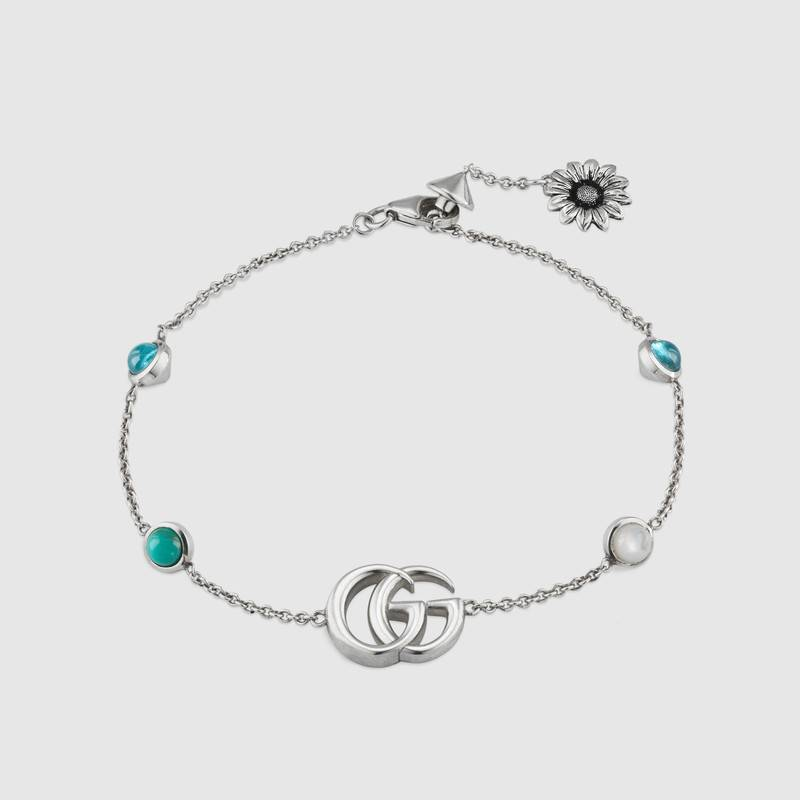 Gucci Double G Flower Bracelet