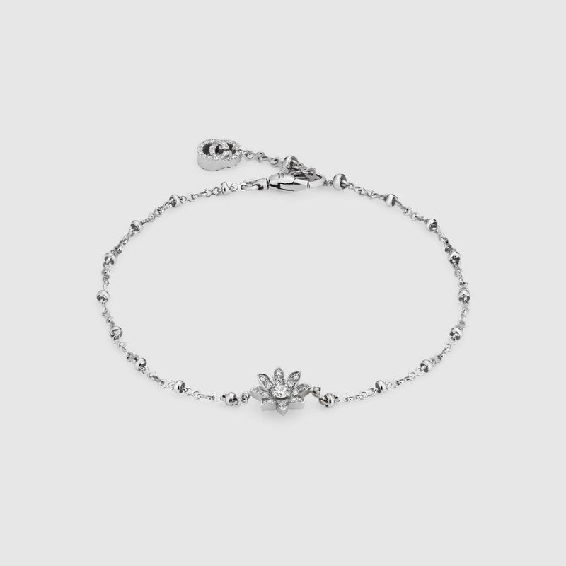 Gucci Flora Bracelet in 18K white gold