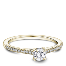 Load image into Gallery viewer, One Love Diamond Engagement Ring In 14K Yellow Gold
