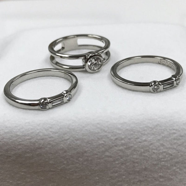 Custom Design Granddaughter Rings