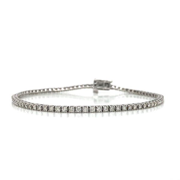 10KW Diamond Tennis Bracelet 2.00ctw