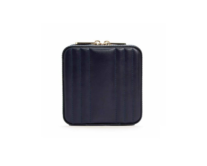 Wolf Maria Square Zip Case - Navy