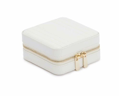 Wolf Maria Square Zip Case - White