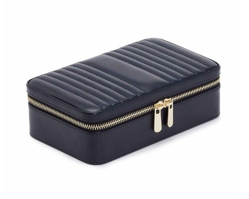 Wolf Maria Medium Zip Case - Navy
