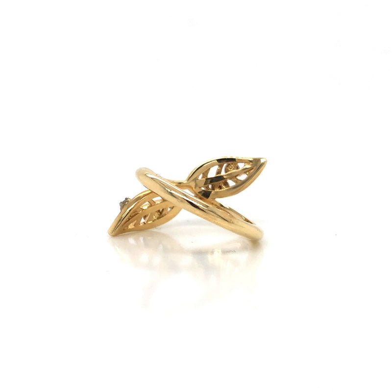 14K Willow Canadian Diamond Ring