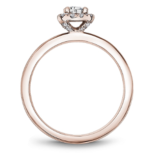 One Love Ring 14KR Halo Round Dia=0.23-0.27ct