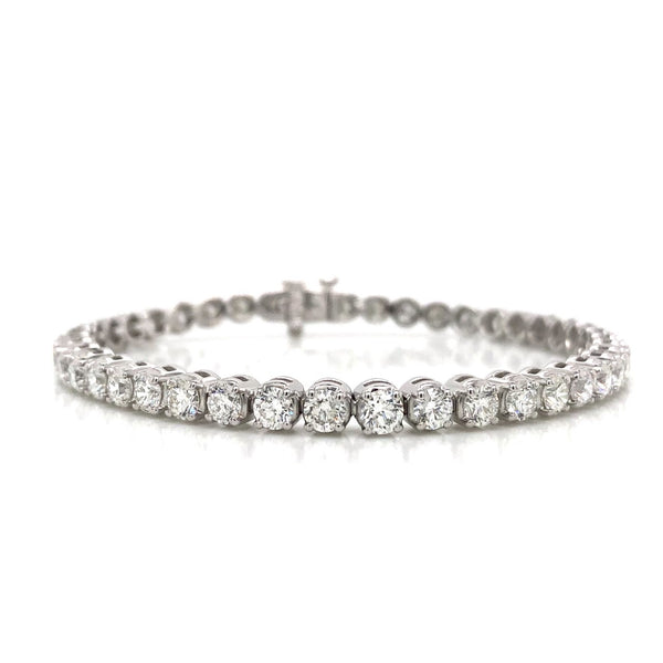 14KW Diamond Tennis Bracelet 7.05ctw