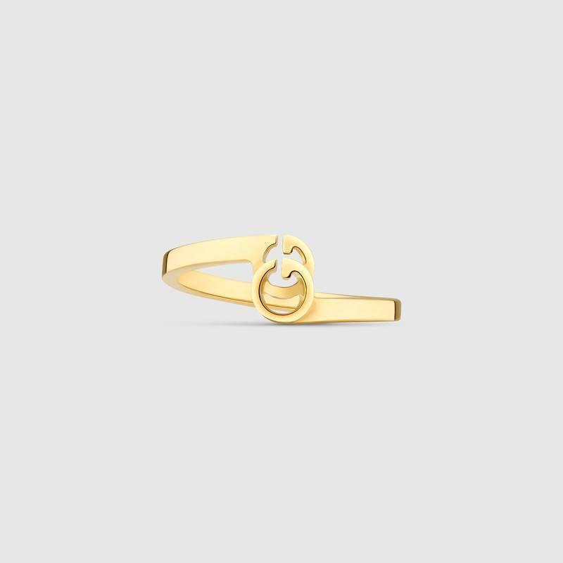Gucci GG Ring In Yellow Gold