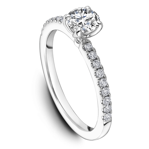 One Love Diamond Engagement Ring In 14KW