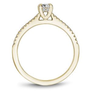 One Love Diamond Engagement Ring In 14K Yellow Gold