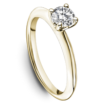 Load image into Gallery viewer, One Love Diamond Solitaire Engagement Ring In 14K Yellow Gold