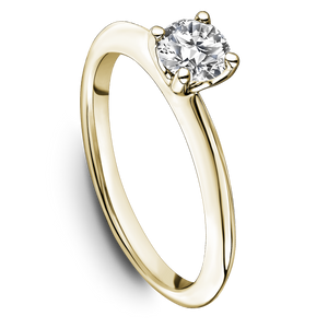 One Love Diamond Solitaire Engagement Ring In 14K Yellow Gold