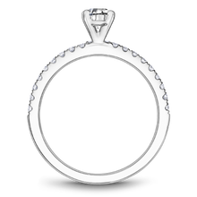 Load image into Gallery viewer, One Love Diamond Engagement Ring In 14K White Gold
