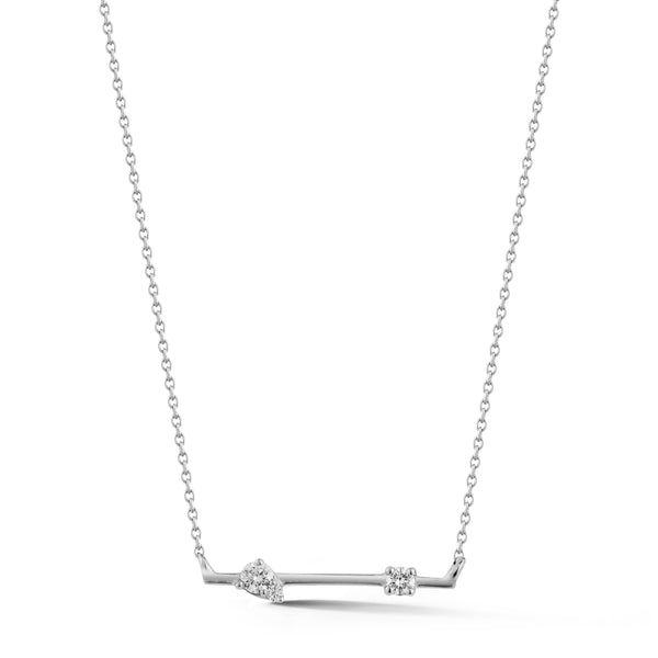 Dana Rebecca Sophia Ryan Diamond Bar Necklace