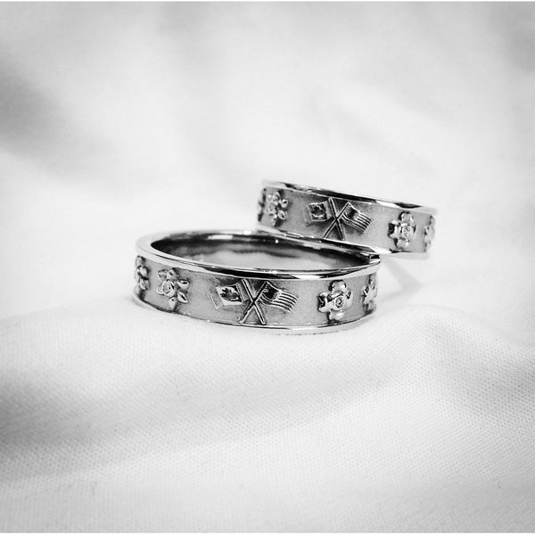 Custom Design American & Canadian Wedding Bands