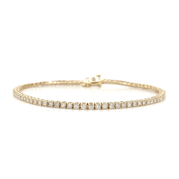 10KY Diamond Tennis Bracelet 2.00ctw
