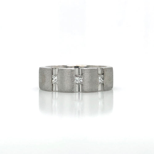 Estate Men's Diamond Wedding Ring