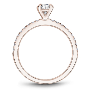 One Love Diamond Engagement Ring In 14K Rose Gold