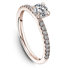 Load image into Gallery viewer, One Love Diamond Engagement Ring In 14K Rose Gold