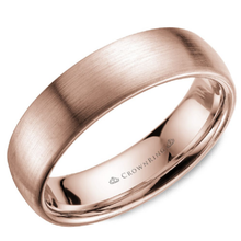 Load image into Gallery viewer, Classic 6mm Wedding Band Sandpaper Finish