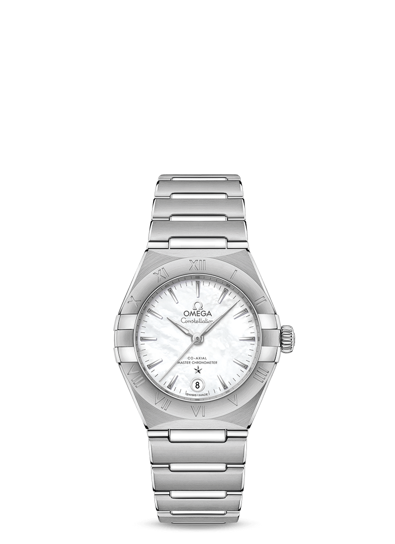 OMEGA Constellation 29mm Steel Silver MOP Dial