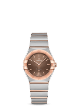 OMEGA Constellation 28mm Steel & 18K Rose Gold Chocolate Dial