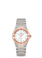 OMEGA Constellation 29mm Steel & 18K Rose Gold Diamond MOP Dial