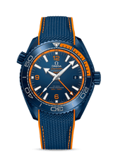 "Load image into Gallery viewer, OMEGA Seamaster Planet Ocean 600M GMT ""Big Blue"""