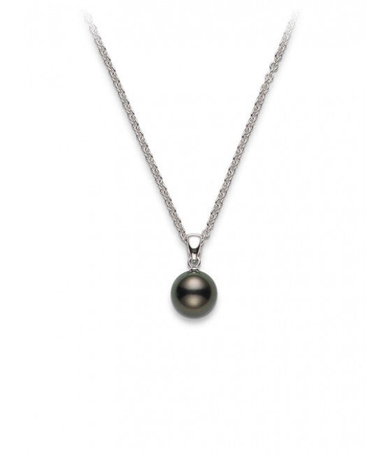 Mikimoto Black South Sea Cultured Pearl Pendant