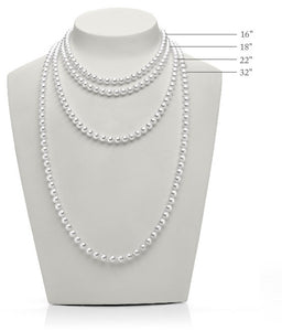 "Mikimoto 32"" Akoya Cultured Pearl Strand Necklace"