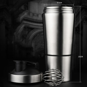 Stainless Steel Protein/Sports Shaker
