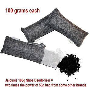 Charcoal Deodorizer - Odor Eliminator (Pack of 12 Bags)