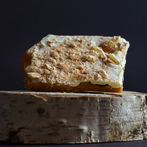 Trigger Toffee - White Chocolate & Almond English toffee