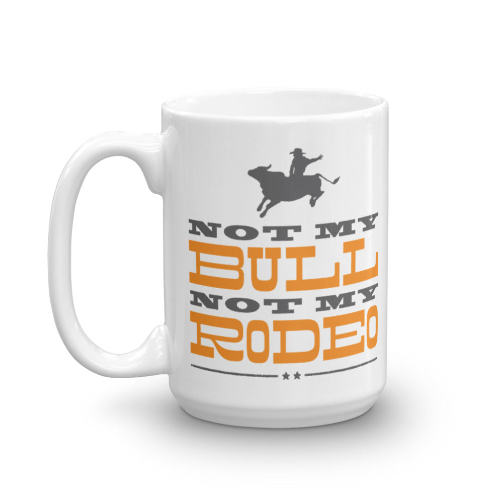 Not My Bull Mug Left Handed