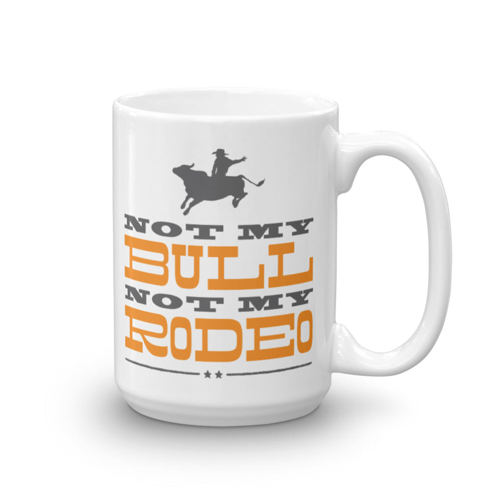 Not My Bull Mug Right Handed