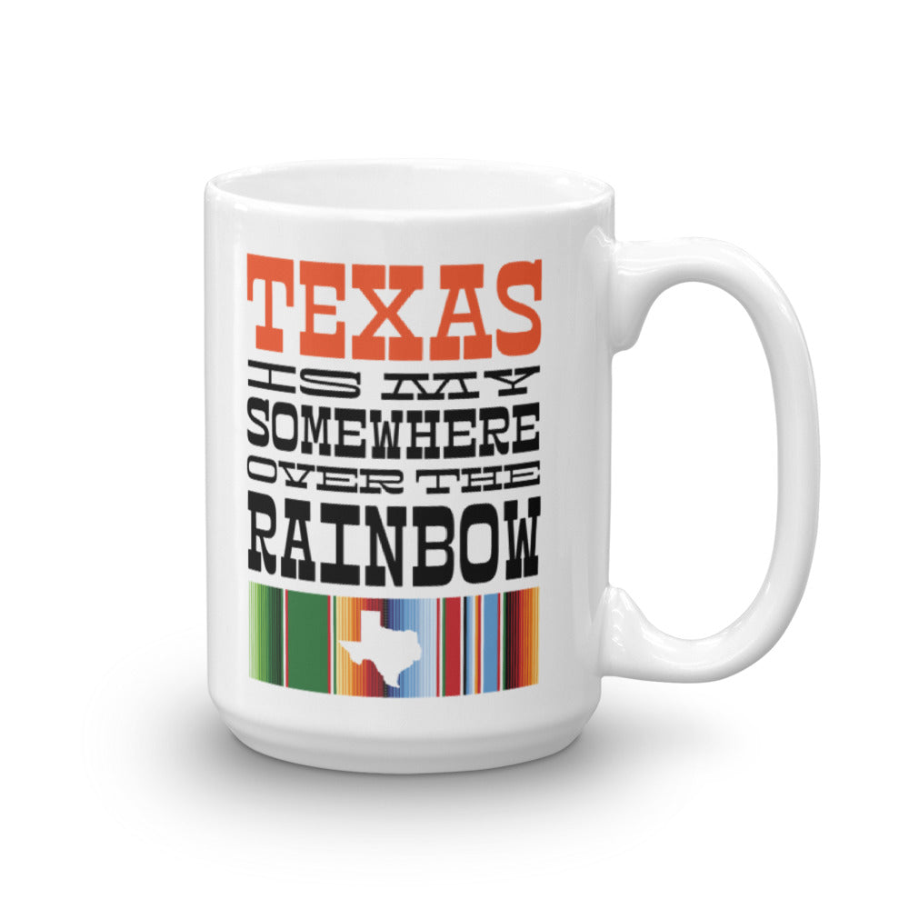Texas State Mug Right Handed