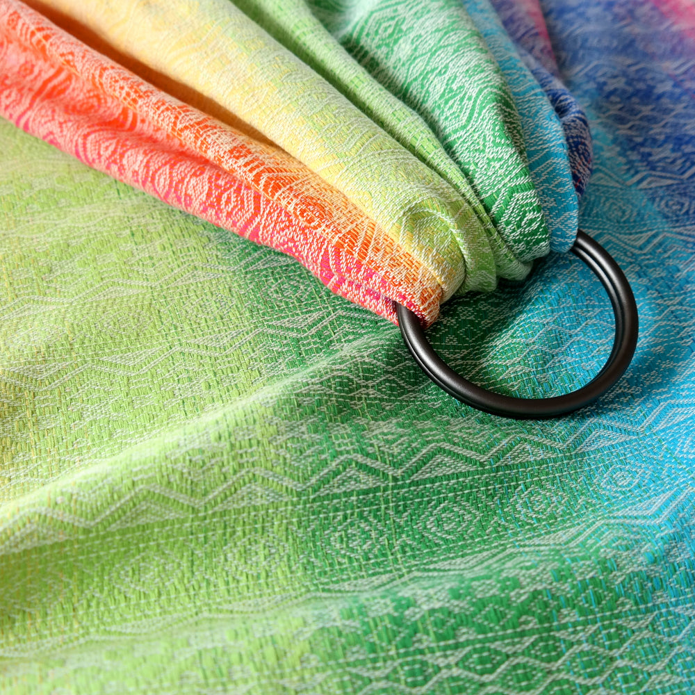 DidySling Ring Sling Baby Carrier,  Ada Rainbow