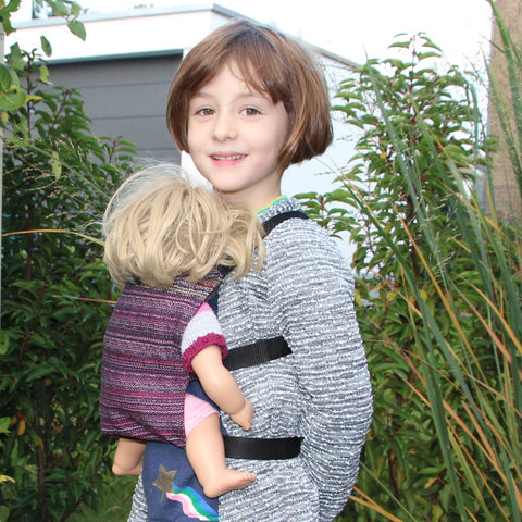 DIDYMOS Doll Snap Blueberry Fall