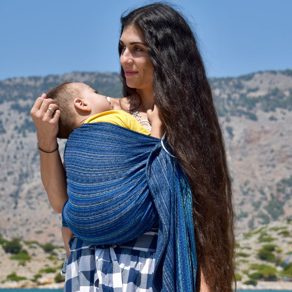 DidySling Ring Sling Baby Carrier,  Aomi