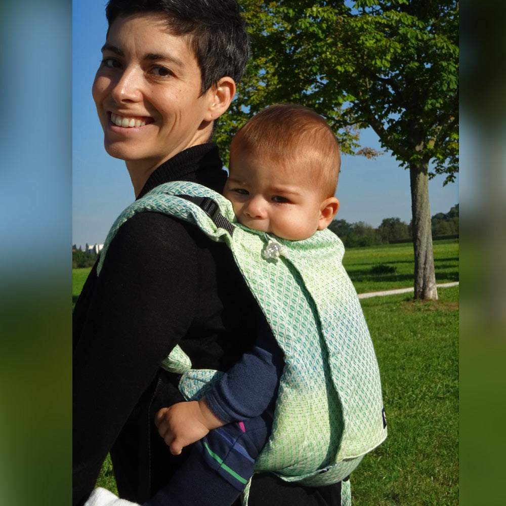 Didy Onbuhimo Baby Carrier, Facett Wasabi
