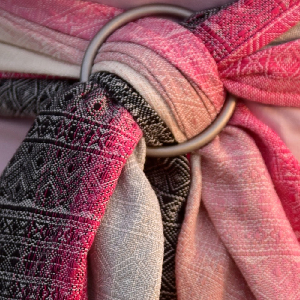 DIDYMOS Baby Wrap Sling, Prima Summer Hibiscus