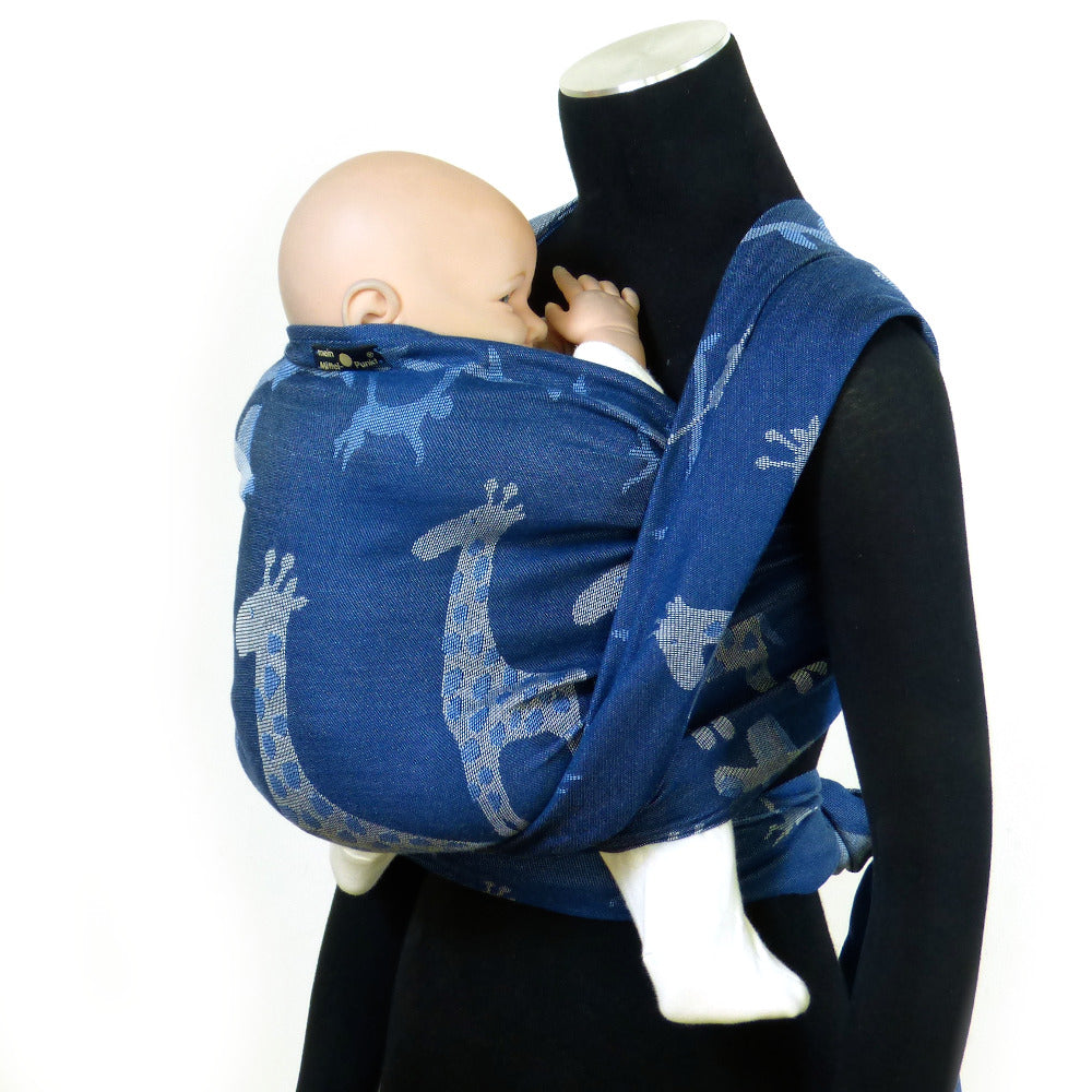 DIDYMOS Baby Wrap Sling, Moonlight Jungle