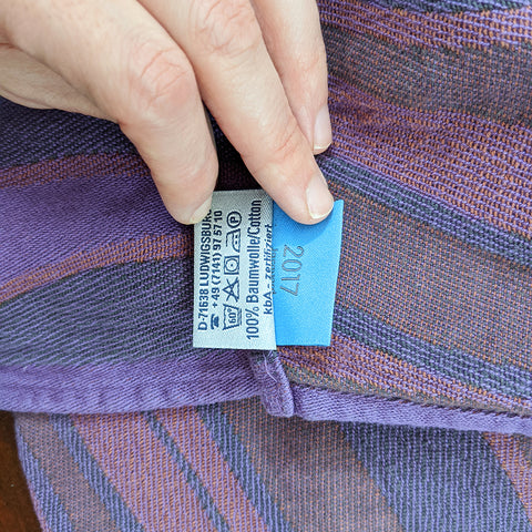 Rental: DIDYMOS Baby Wrap Sling Waves Elder, size 2